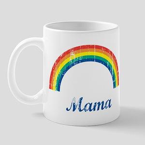 Mama (vintage-rainbow) Mug