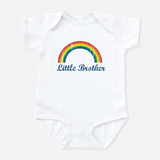 Little Brother (vintage-rainb Infant Bodysuit