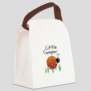 LITTLE CAMPER Canvas Lunch Bag