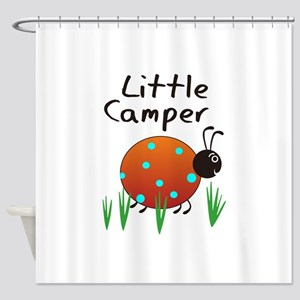 LITTLE CAMPER Shower Curtain