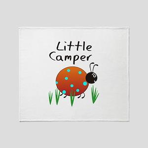 LITTLE CAMPER Throw Blanket
