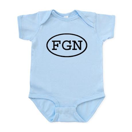 FGN Oval Infant Bodysuit