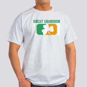 GREAT GRANDSON (Irish) Light T-Shirt