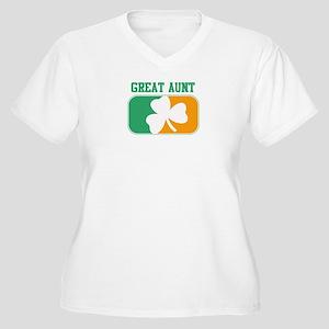 GREAT AUNT (Irish) Women's Plus Size V-Neck T-Shir