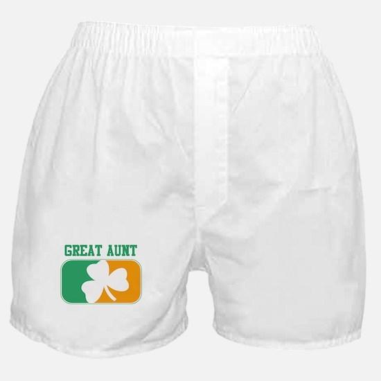 GREAT AUNT (Irish) Boxer Shorts