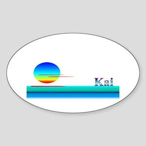 Kai Oval Sticker