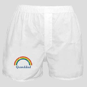 Granddad (vintage-rainbow) Boxer Shorts