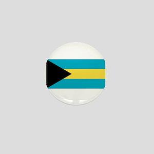 Bahamas Flag Mini Button
