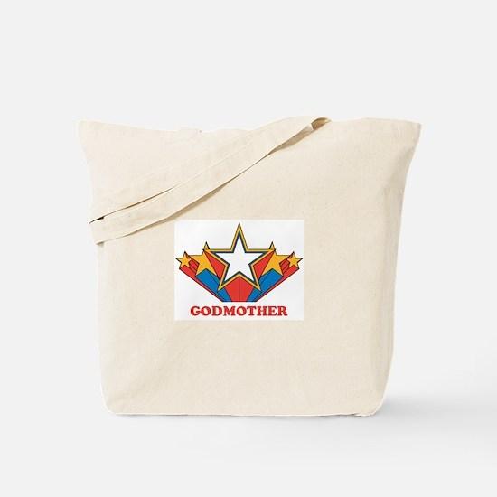 GODMOTHER (retro-star) Tote Bag