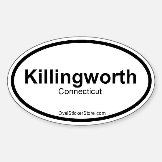 Killingworth, CT Oval Decal