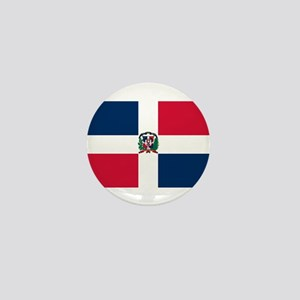 Dominican Republic Flag Mini Button