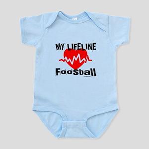 My Life Line Foosball Baby Light Bodysuit