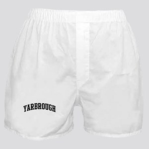 YARBROUGH (curve-black) Boxer Shorts