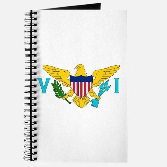 U.S. Virgin Islands Flag Journal