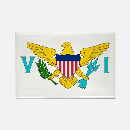 U.S. Virgin Islands Flag Rectangle Magnet