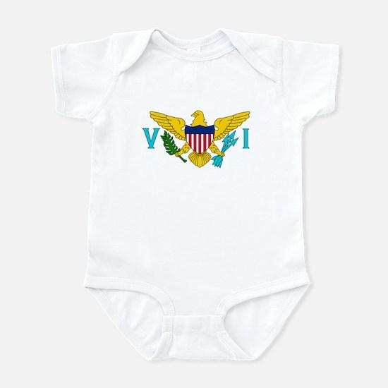 U.S. Virgin Islands Flag Infant Bodysuit