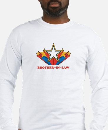 BROTHER-IN-LAW (retro-star) Long Sleeve T-Shirt