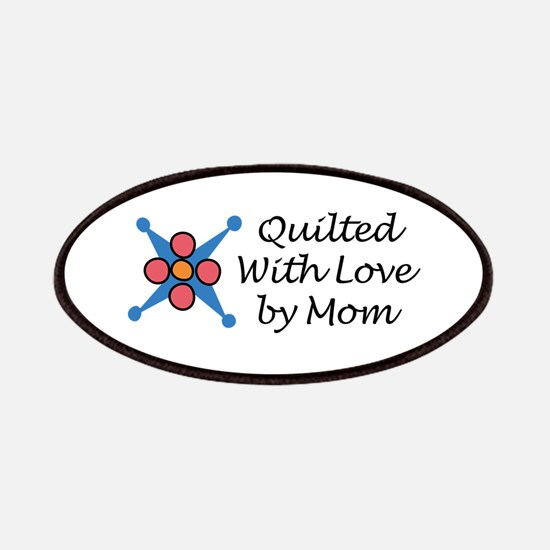 QUILTED BY MOM Patch