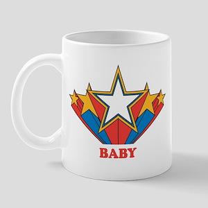 BABY (retro-star) Mug