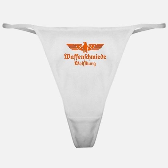 Waffenschmiede Wolfsburg Orange Classic Thong