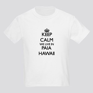Keep calm we live in Paia Hawaii T-Shirt