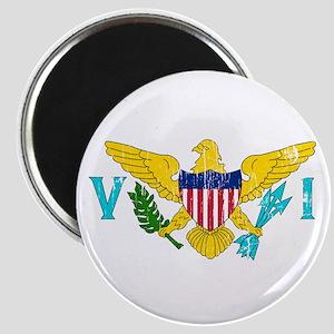 Vintage Virgin Islands Magnet