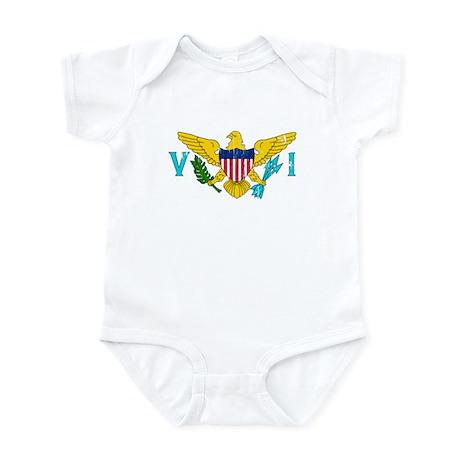 Vintage Virgin Islands Infant Bodysuit