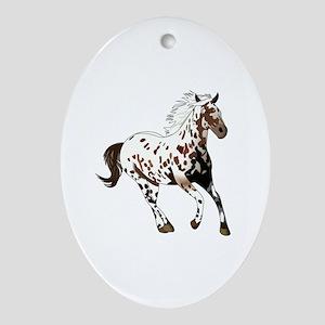 APPALOOSA HORSE Ornament (Oval)