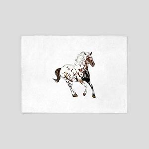 APPALOOSA HORSE 5'x7'Area Rug