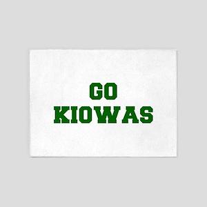 Kiowas-Fre dgreen 5'x7'Area Rug