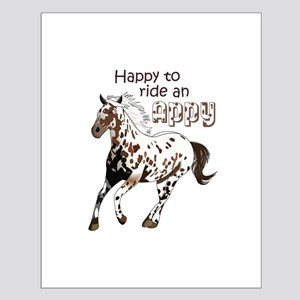 HAPPY TO RIDE AN APPY Posters