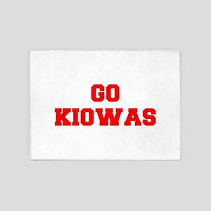 KIOWAS-Fre red 5'x7'Area Rug