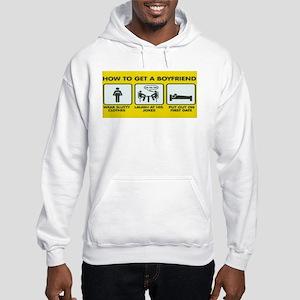 HOW TO GET A BOYFRIEND Hooded Sweatshirt