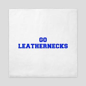 Leathernecks-Fre blue Queen Duvet
