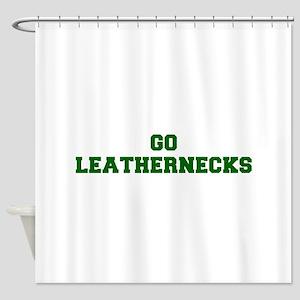 Leathernecks-Fre dgreen Shower Curtain