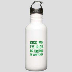 Kiss me I am Irish or Stainless Water Bottle 1.0L