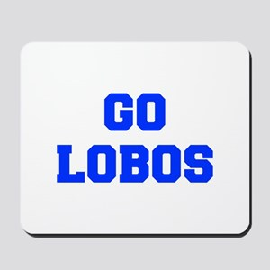 Lobos-Fre blue Mousepad