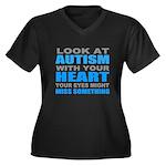 Autism quote Plus Size T-Shirt