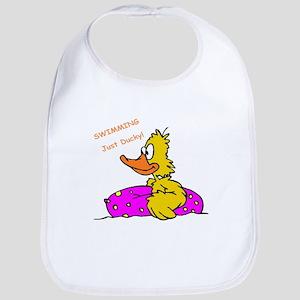 Swimming Yellow Ducky with Float Bib