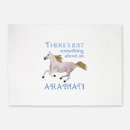 SOMETHING ABOUT AN ARABIAN 5'x7'Area Rug
