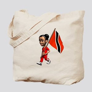 Trinidad and Tobago Girl Tote Bag