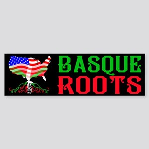 Basque American Roots Bumper Sticker