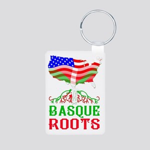 Basque American Roots Keychains