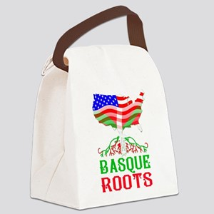 Basque American Roots Canvas Lunch Bag