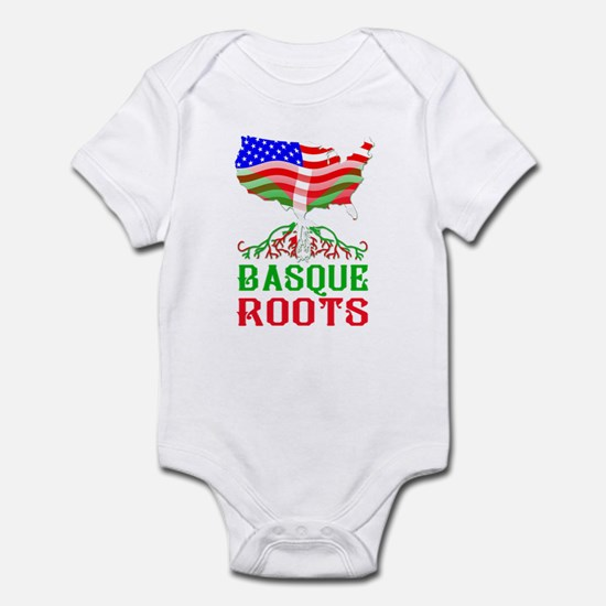 Basque American Roots Body Suit