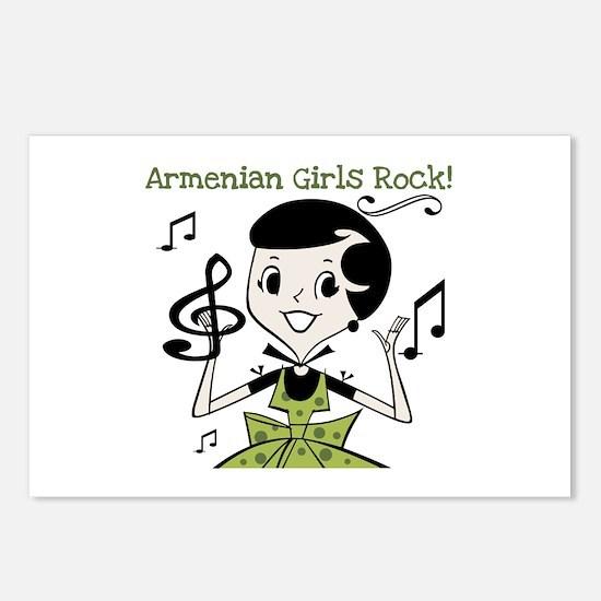 Armenian Girls Rock Postcards (Package of 8)