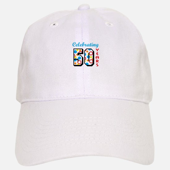 CELEBRATING FIFTY Baseball Baseball Baseball Cap