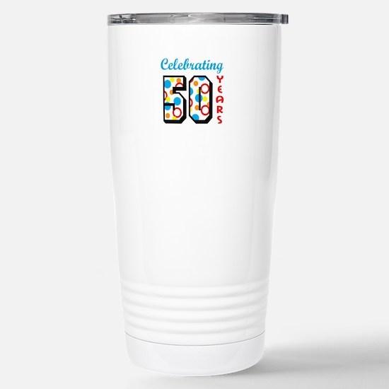 CELEBRATING FIFTY Travel Mug