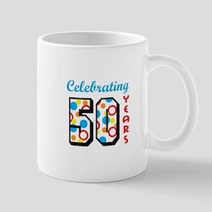 CELEBRATING FIFTY Mugs