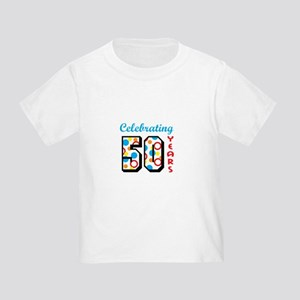 CELEBRATING FIFTY T Shirt